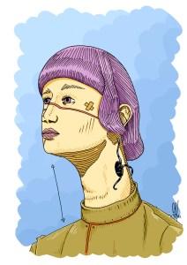 Ceci est une giraffe - chth illustration