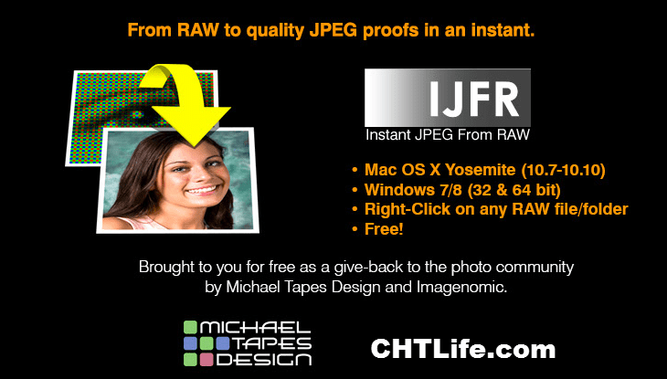 Instant JPEG from RAW