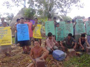Dighinala protest, 15.07.14
