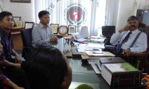 babuchara team meet wit Mizanur Rahaman
