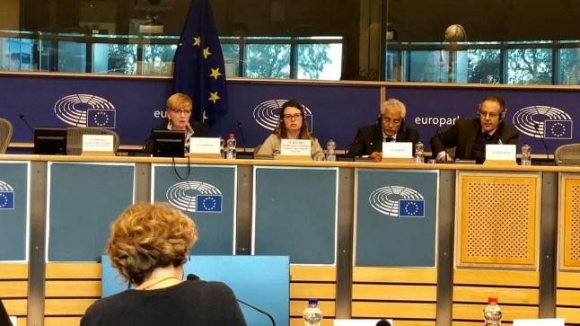 مقر البرلمان الأوروبي جلسة نقاش حول اتفاقية الصيد البحري بين المغرب والإتحاد الأوروبي