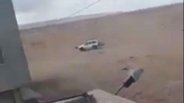 بالفيديو: سائق في حالة سكر يستعرض مهاراته بسيارة تابعة لملكية الدولة متسببا في خسائر عديدة..