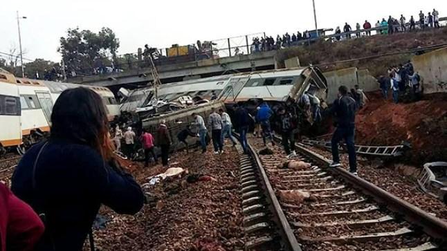 """هذه هي آخر التطورات الخاصة بحادثة قطار """"بولقنادل"""""""