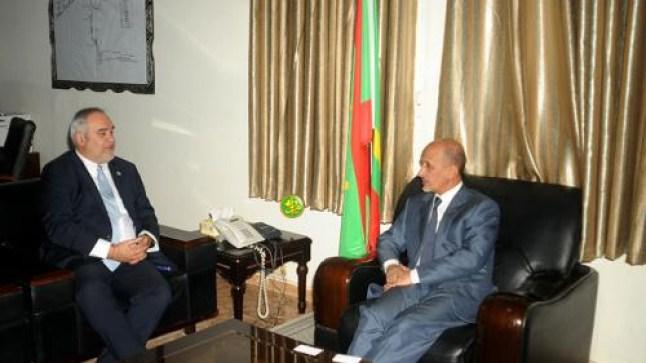 ممثل البنك الدولي بموريتانيا يعقد سلسلة اجتماعات مع بعض المسؤولين فى حكومة البلاد..