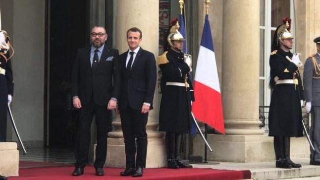 الملك محمد السادس حاضر في احتفالات الذكرى المئوية للحرب العالمية الأولى بباريس