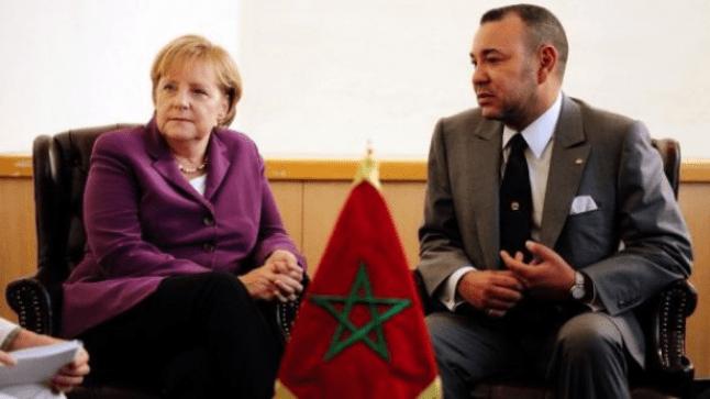 إلغاء لقاء للملك مع ميركل بمراكش بسبب جدول مواعيد العاهل المغربي..