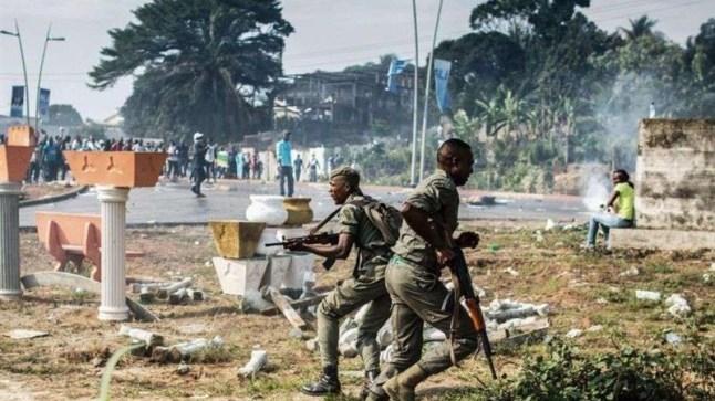 """الجيش الغابوني يسيطر على الإذاعة الوطنية في محاولة انقلاب على """"بونغو"""" المتواجد بالمغرب.."""