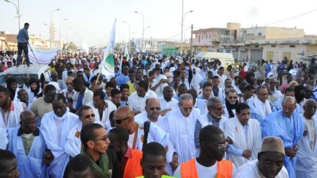 المعارضة الموريتانية تدعو الشعب للنزول إلى الشارع
