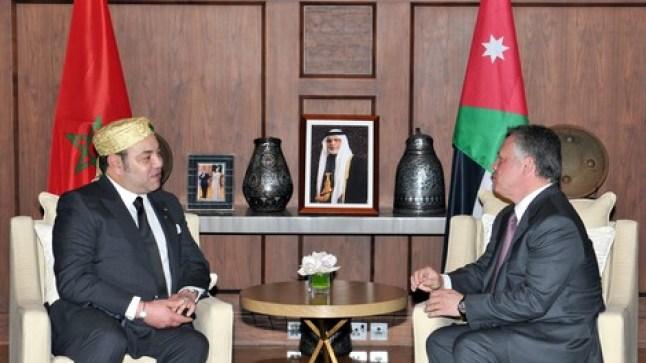 ملك الأردن يقوم بزيارة صداقة وعمل إلى المغرب..
