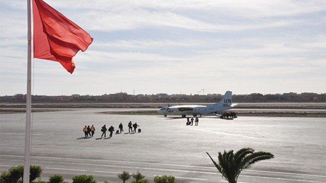 وفد عسكري أمريكي يحل بالعيون ويجتمع بقائد بعثة المينورسو..