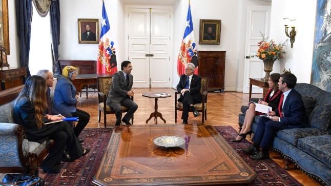 رئيس جمهورية الشيلي يستقبل بوريطة.. وقضية الصحراء حاضرة على طاولة النقاش..