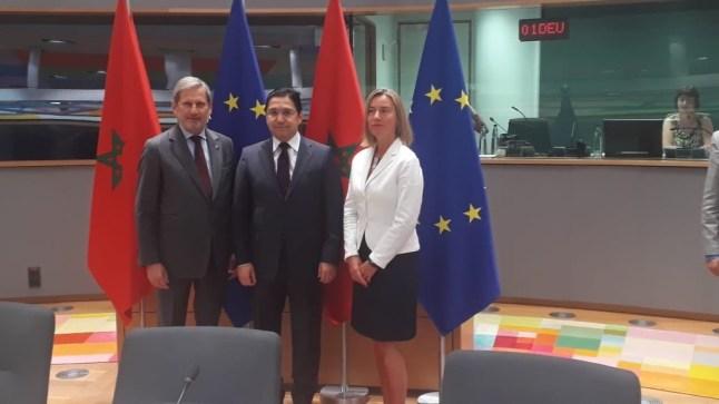 إنطلاق الشراكة الأوروبية المغربية من أجل الازدهار المشترك في بروكسيل