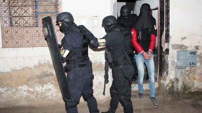 الـBCIJ يُطيح بموالين لداعش بالراشدية وتنغير خططوا لإعتداءات إرهابية
