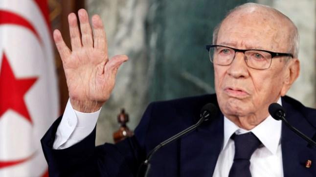 رئيس البرلمان التونسي يؤكد أنه سيتولى الرئاسة والمرزوقي يدعو للتلاحم والتمسك بالدستور بعد وفاة السبسي..