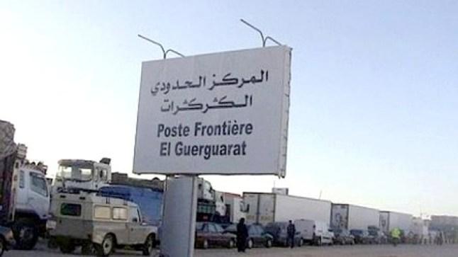 """البوليساريو تطالب بتدخل مجلس الأمن لوقف إيفاد """"عملاء مغاربة"""" في المنطقة العازلة قرب الكركرات.."""