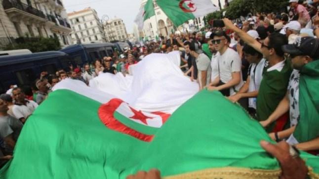 مشيا على الأقدام.. الجزائريون في طوفان بشري يتوجه نحو العاصمة!