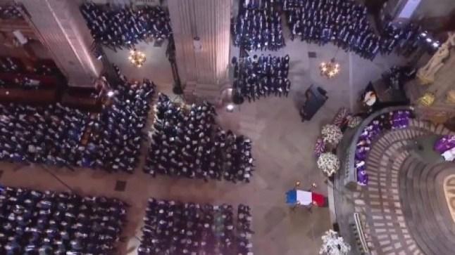 ولي العهد المغربي حاضر في مراسيم تشييع جنازة الرئيس الفرنسي الأسبق جاك شيراك