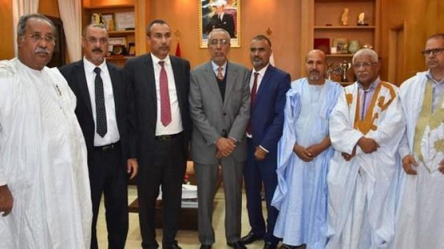 جهة الداخلة تستقطب رجال أعمال موريتانيين..