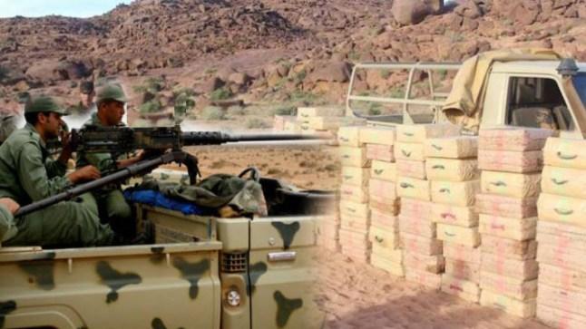 الجيش المغربي يوقف مهربين للمخدرات قرب الجدار العازل بالصحراء..