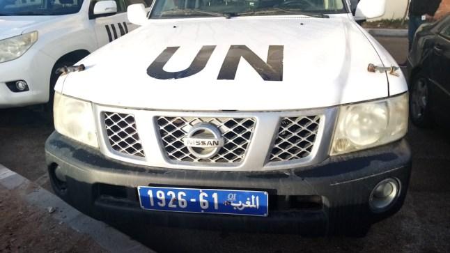 العيون: استنفار أمني عقب سرقة سيارة أممية تابعة للمينورسو!