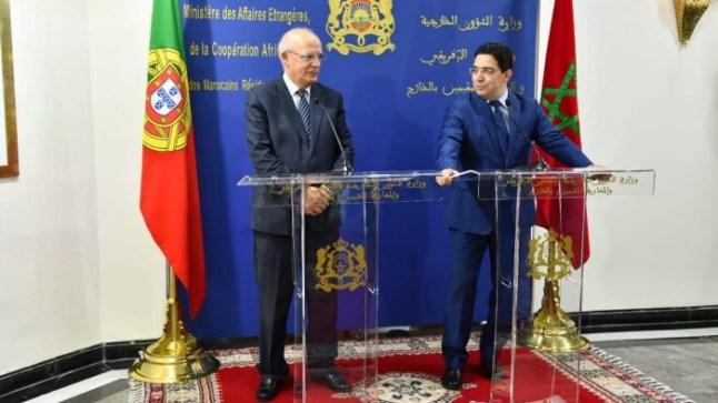 """وزير الخارجية البرتغالي يشيد بمبادرة الحكم الذاتي """"الجدية للغاية وذات المصداقية"""""""
