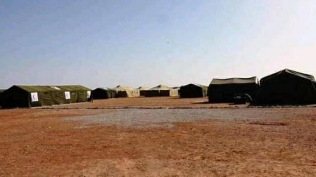 بسبب كورونا.. الجزائر تشيد مستشفى ميدانيا بمخيمات تندوف