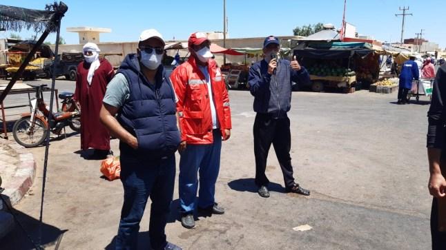 تواصل الحملات التوعوية من فيروس كورونا ببوجدور