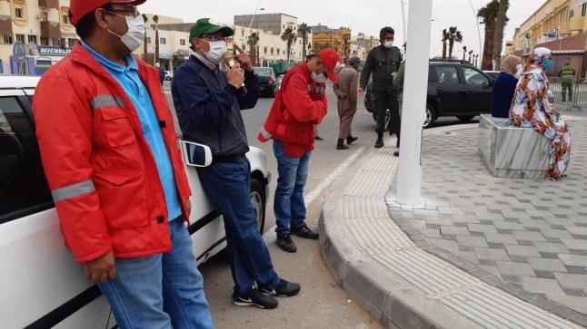 الحملات التوعوية ضد كورونا متواصلة ببوجدور قبل أيام العيد