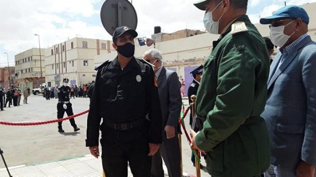 """ولاية لعيون تفتتح مقرا جديدا للدائرة الأولى للشرطة بـ """"سوق الجمال"""".."""