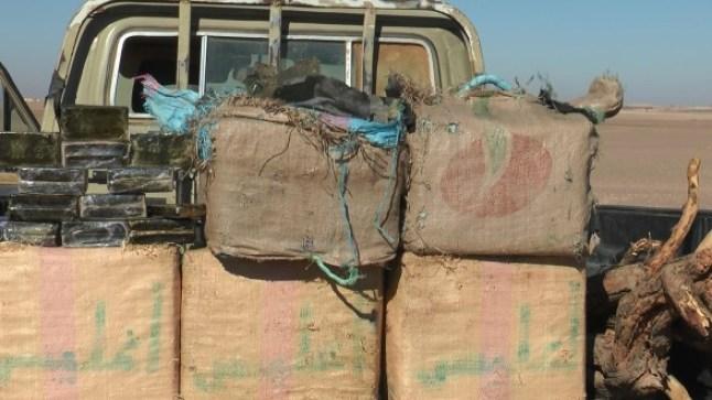 الجيش المغربي يحبط محاولة تهريب كمية كبيرة من المخدرات بضواحي كليميم…