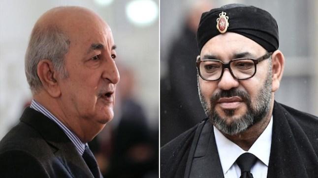 الملك محمد السادس يهنئ الرئيس الجزائري بمناسبة استقلال بلاده
