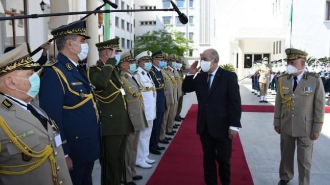 الرئيس الجزائري يجري تغييرات جديدة في قيادة الجيش