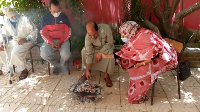 نزلاء دار الطالب ببوجدور يحتفلون بعيد الأضحى المبارك