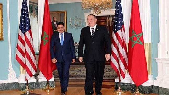 بوريطة وبومبيو يوقعان إتفاقية تعزيز الإمتيازات والحصانة الدبلوماسية