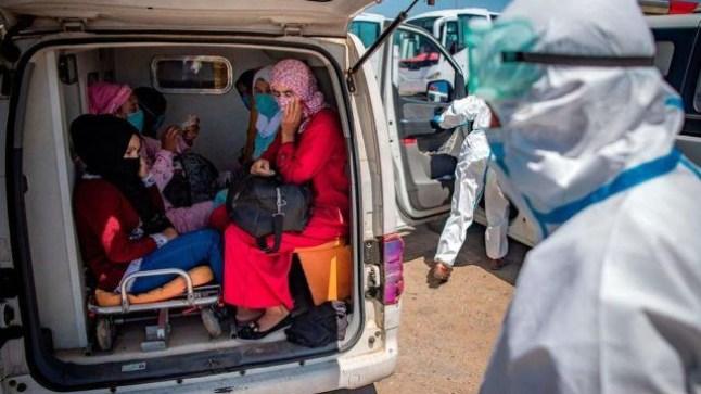 المغرب يسجل 2919 إصابة كورونا و 61 وفاة جديدة !