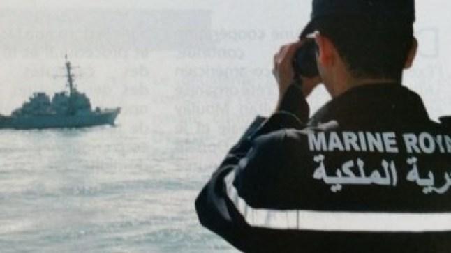 البحرية الملكية تحبط محاولة تهريب أزيد من طنين من المخدرات على متن قارب تقليدي