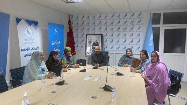 """""""فانو"""" يشرف على تشكيل مكتب منظمة المرأة التجمعية بالعيون"""