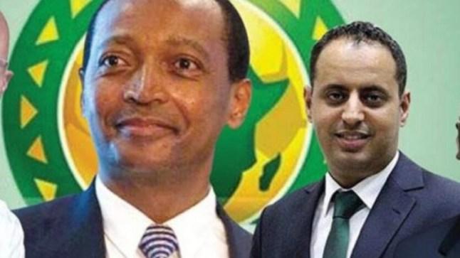 الموريتاني ولد يحيى ينسحب من سباق رئاسة الكـاف لصالح الجنوب أفريقي موتسيبي