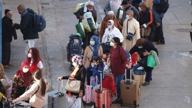 أزيد من 200 مغربي(ة) عالقون في سبتة و يريدون العودة إلى الديار !