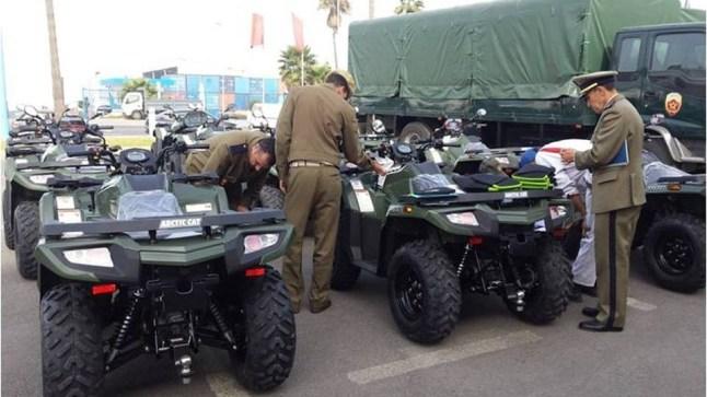 لمكافحة الهجرة..إسبانيا تمنح وزارة الداخلية المغربية 90 دراجة رباعية الدفع بقيمة 1.4 مليون دولار