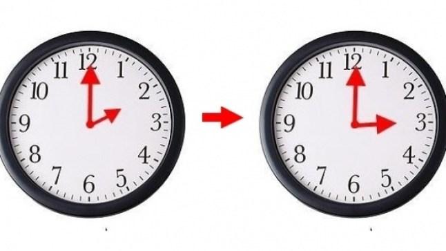 إضافة 60 دقيقة للتوقيت القانوني للمملكة يوم الأحد المقبل
