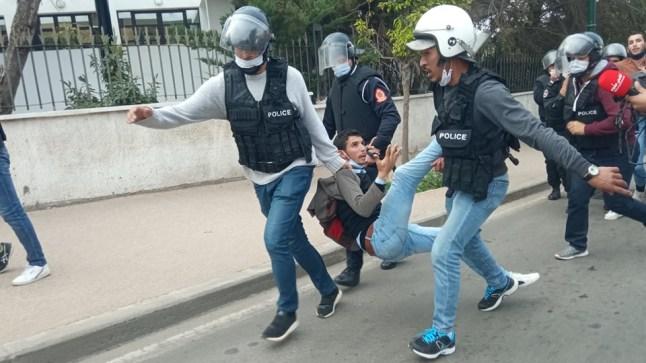 """""""أمنيستي"""" تدعو المغرب إلى وقف قمع أساتذة التعاقد وإسقاط التهم الموجهة إليهم"""