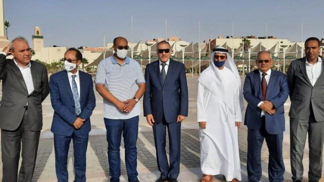 وفد دبلوماسي عربي يحل بالعيون ويشيد بالتطور الذي تشهده الأقاليم الجنوبية