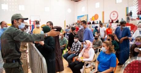 وزارة الصحة تدعو المواطنين لتفادي الاكتظاظ بمراكز التلقيح والتوجه لأي مركز آخر