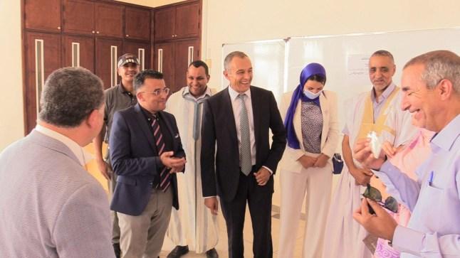 اللجنة الخاصة بالنموذج التنموي الجديد في زيارة لإقليم السمارة..
