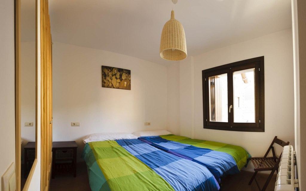 Habitación con una o dos camas de 90cm.