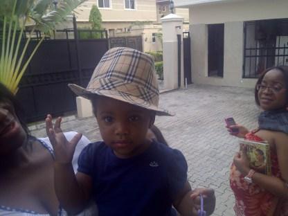 My extraordinarily pretty niece: Maya Agboti