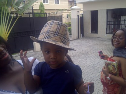 My extraordinarily pretty niece: Maya Agboti