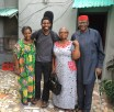Visting my aunty Njide with my parents in FESTAC. Lagos, Nigeria (May 2016)