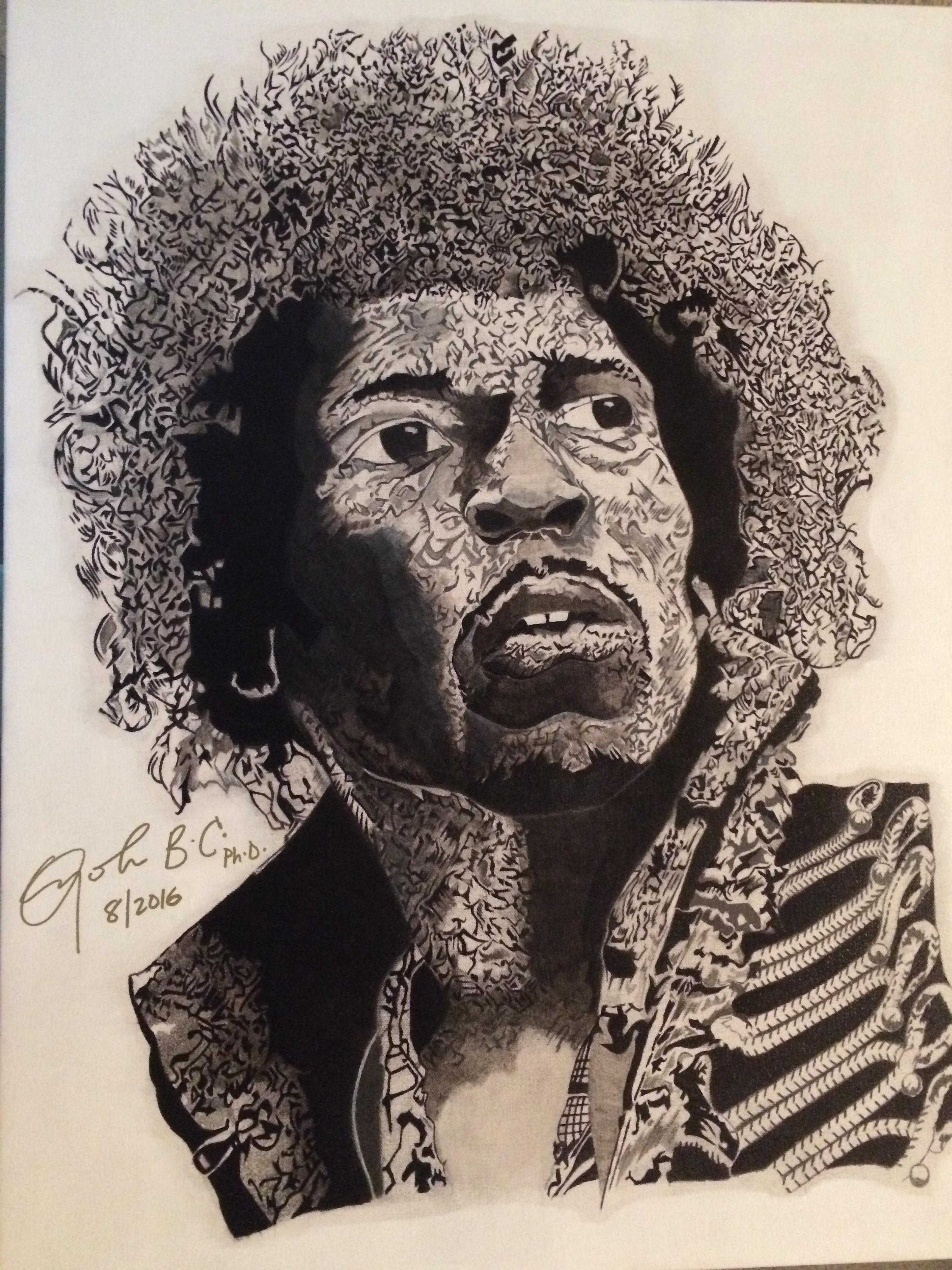Jimi Hendrix 11